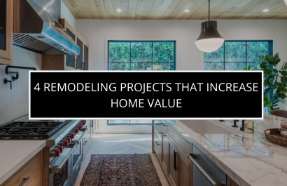 4 Exterior Remodeling Projects That Boost a House's Curb Appeal