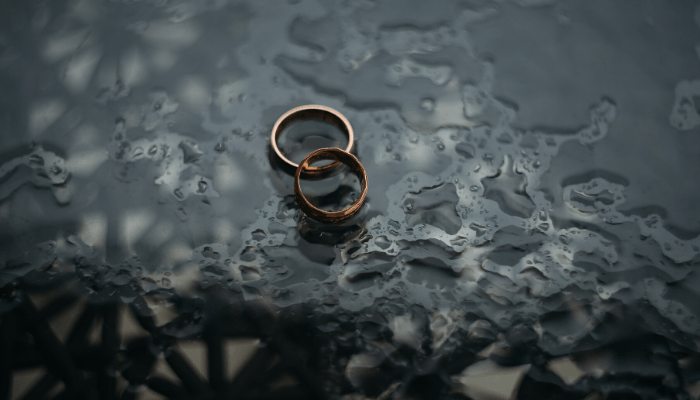 Rings that require documents to get a mortgage.