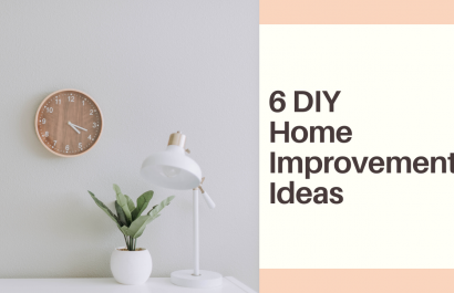 6 DIY Home Improvement Ideas