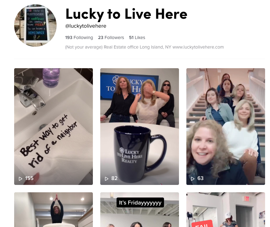 Follow us @luckytolivehere on TikTok