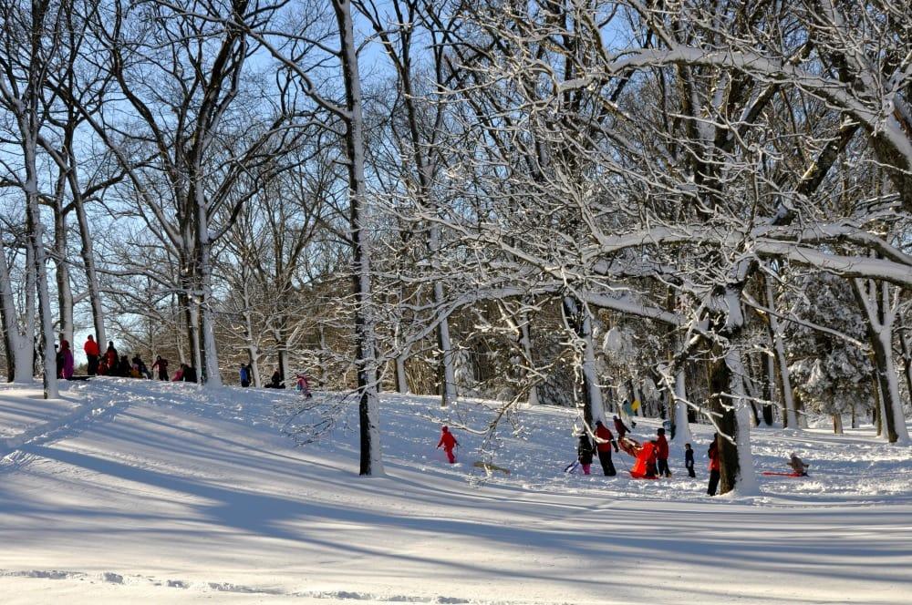 Snow Much Fun in Huntington, Best Sledding Spots