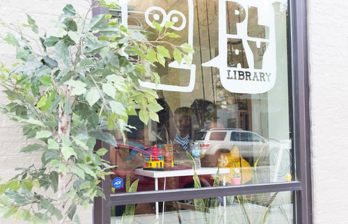 Play Library website