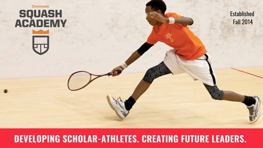 Cincinnati Squash Academy website