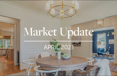 Easton Real  Estate Market Update - April 2021