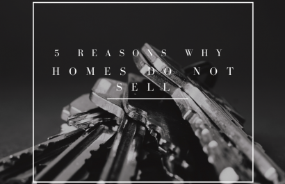 5 Reasons Homes Do Not Sell