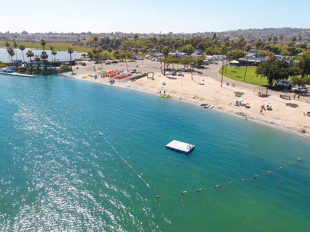San Diego Best RV Campground | Beachfront Campgrounds & Tent Camping