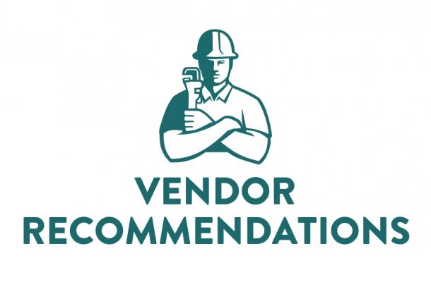 Vendor Rcommendations