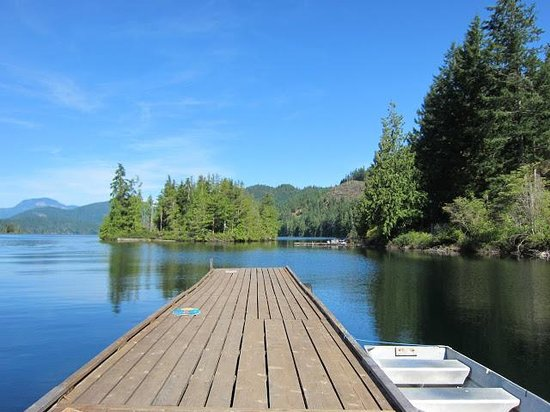 Ruby Lake Resort, Sunshine Coast, BC; Nature-lodge, Wilderness Escape; Trattoria Italiana