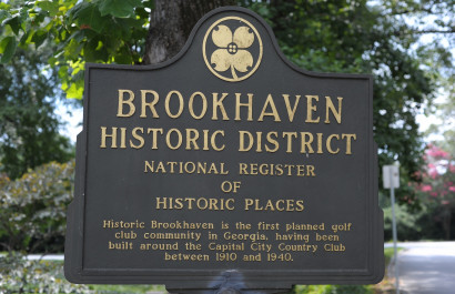 History of Historic Brookhaven