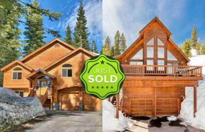 4 Homes Just Sold This Week in Tahoe Donner!