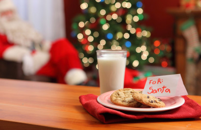 6th Annual Cookies and Milk with Santa