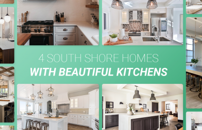 4 South Shore Homes With Beautiful Kitchens