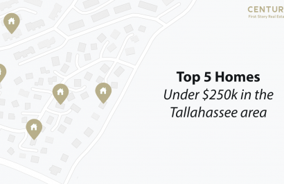 Top 5 Homes Under $250k In the Tallahassee area