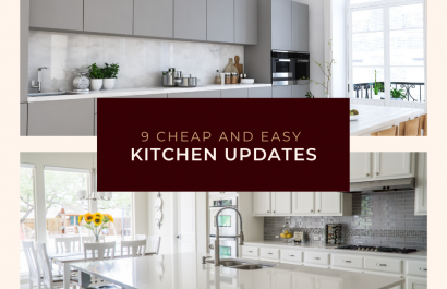 9 Cheap and Easy Kitchen Updates