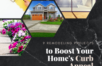 9 Remodeling Projects that Boost Your Home's Curb Appeal