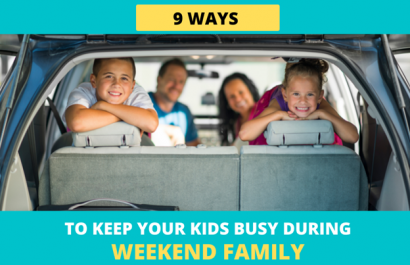 9 Ways to Keep Your Kids Busy on Weekend Family Roadtrips
