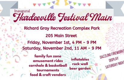 Start the Holiday Cheer at the Hardeeville Festival Main!