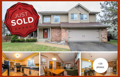 Just Sold! Lovely 3BR / 2.5-bath home in Ann Arbor