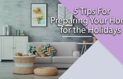 5 tips to prep home for holidays