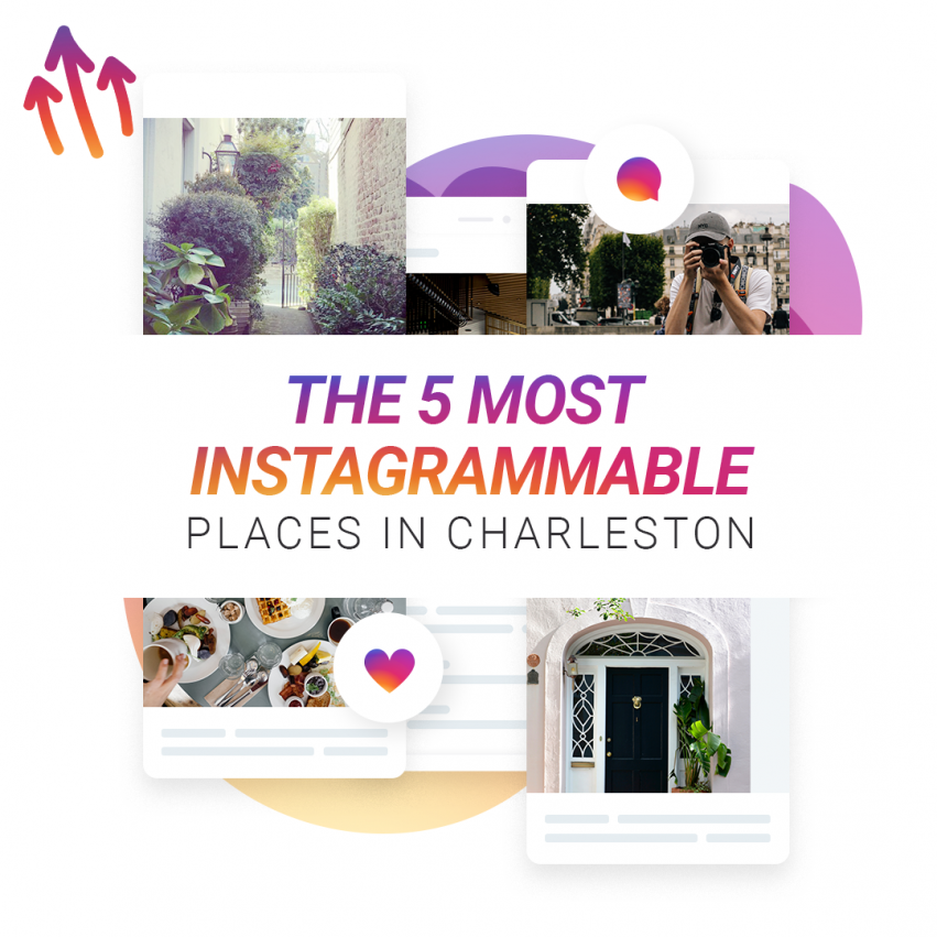 The 5 Most Instagrammable Places in Charleston