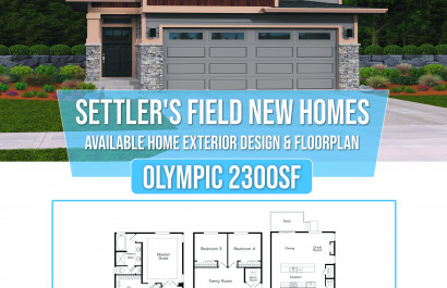 Settler's Field: New Homes in Silverdale