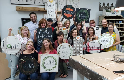 Live Love Atlanta gets Crafty!