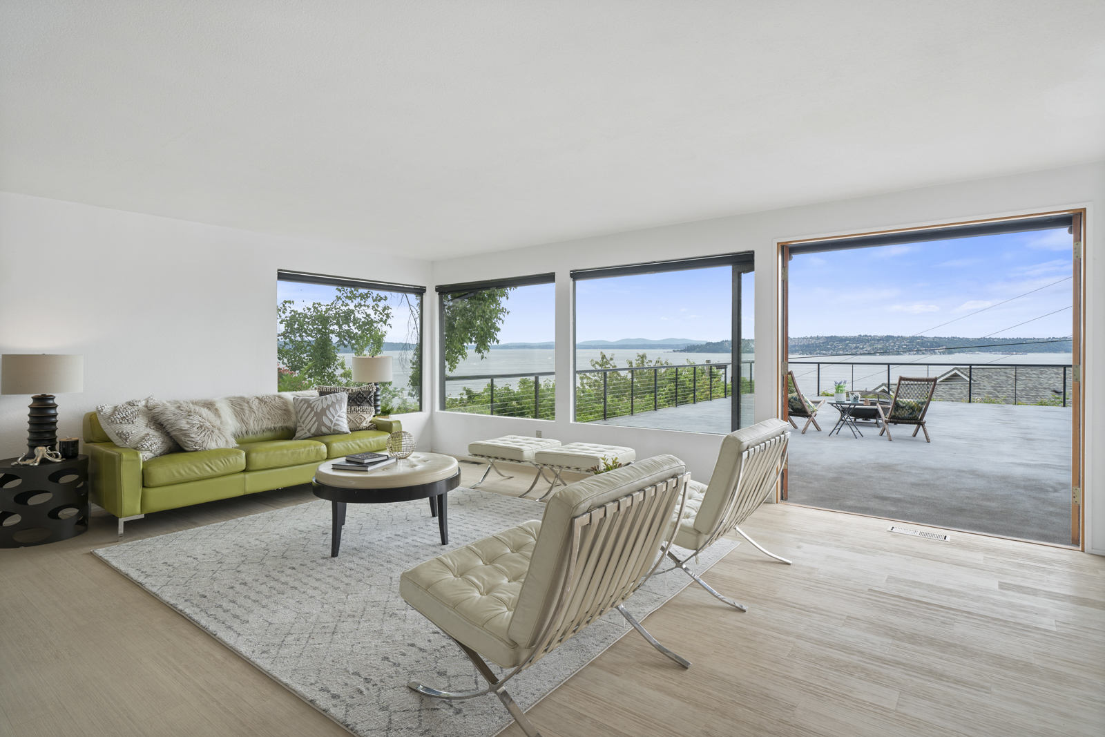 Unobstructed, Panoramic Views in this Mid-Century Modern Home | 4801 N Mullen St, Tacoma