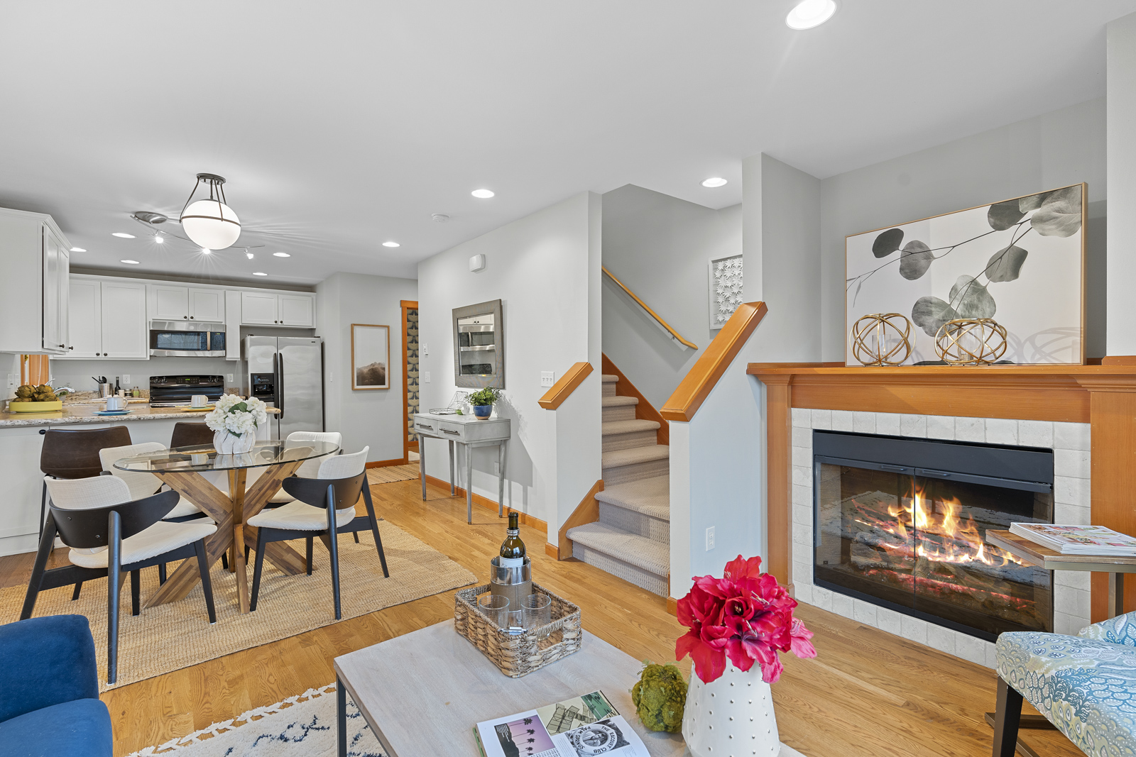 Best of Ballard & NW Seattle is at your doorstep in this wonderfully updated Loyal Heights Townhome!