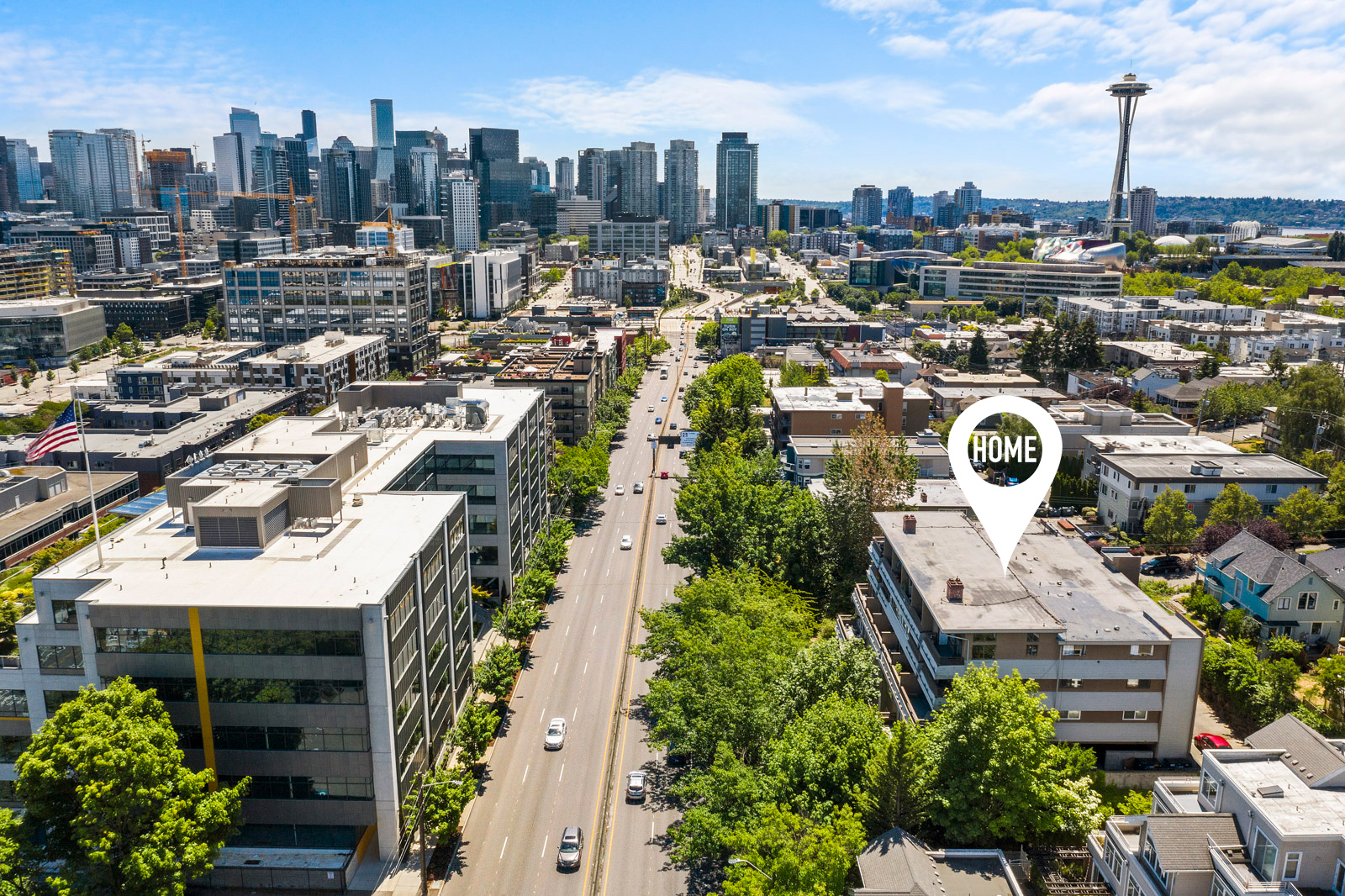 Can't Miss Opportunity for the Savvy Home Buyer for a Smart Condo Investment in Prime Queen Anne!