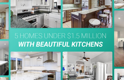 5 Homes With Beautiful Kitchens Under $1.5 Million