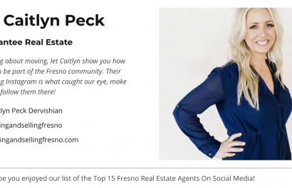 Caitlyn Peck is the #1 Realtor in Fresno on Social Media.