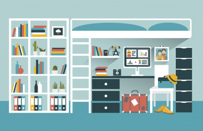 Everything You Need for Your Freshman's Dorm   Dorm Room Checklist