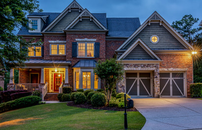 EarthCraft Certified 4 Sides Brick Home on Private Lot   Open House