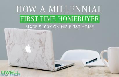 How A Millennial First-Time Homebuyer Made $100K
