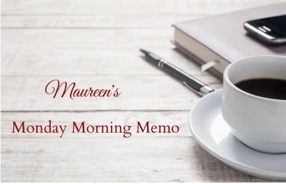 Monday Morning Memo for September 10, 2018