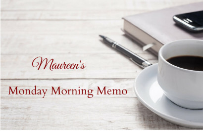 Monday Morning Memo for October 1, 2018