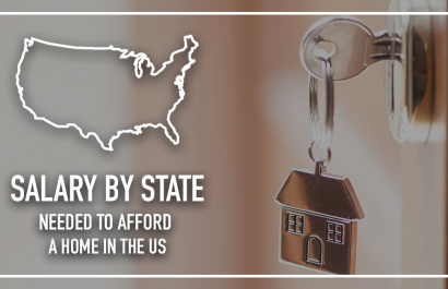 Salary-By-State to Afford The Average Home in the U.S.