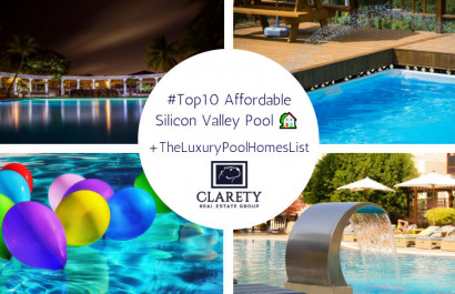 Top 10 Affordable Silicon Valley Pool Homes