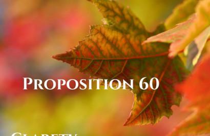 Proposition 60 Within Santa Clara County