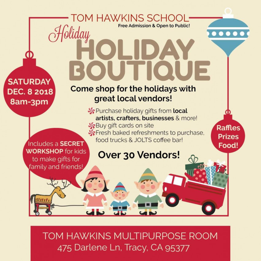 Holiday Boutique Tom Hawkins