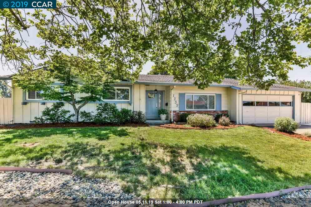 1735 Carriage Dr. Walnut Creek, California