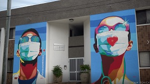 The Cultural Coast:  Downtown Sarasota Heroes Mural