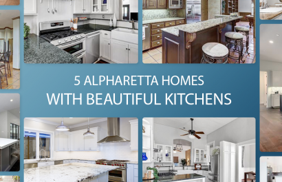 5 Alpharetta Homes With Beautiful Kitchens Under $400K