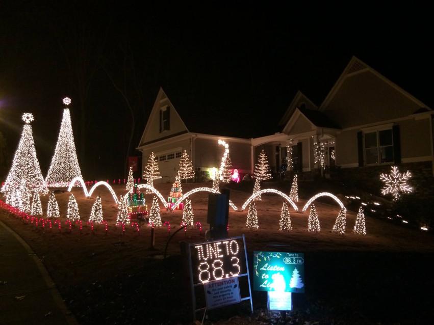 Best Christmas Lights in North Atlanta