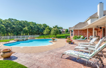 Homes for Sale in Flower Mound with Outdoor Living Areas