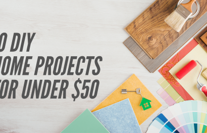 10 DIY House Projects Under $50