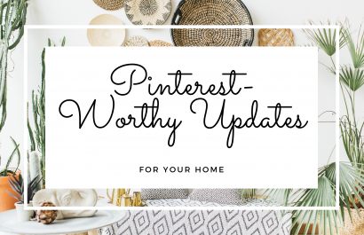12 Pinterest-Worthy Updates for Your Home