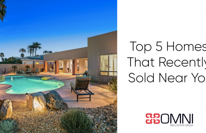 Top 5 Homes That Recently Sold in Coachella Valley