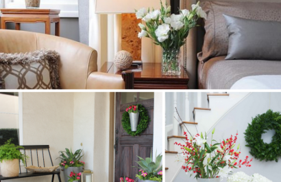 Use flowers in home staging to wow the buyers