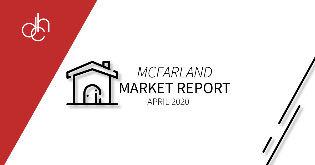 April 2020 McFarland Market Report